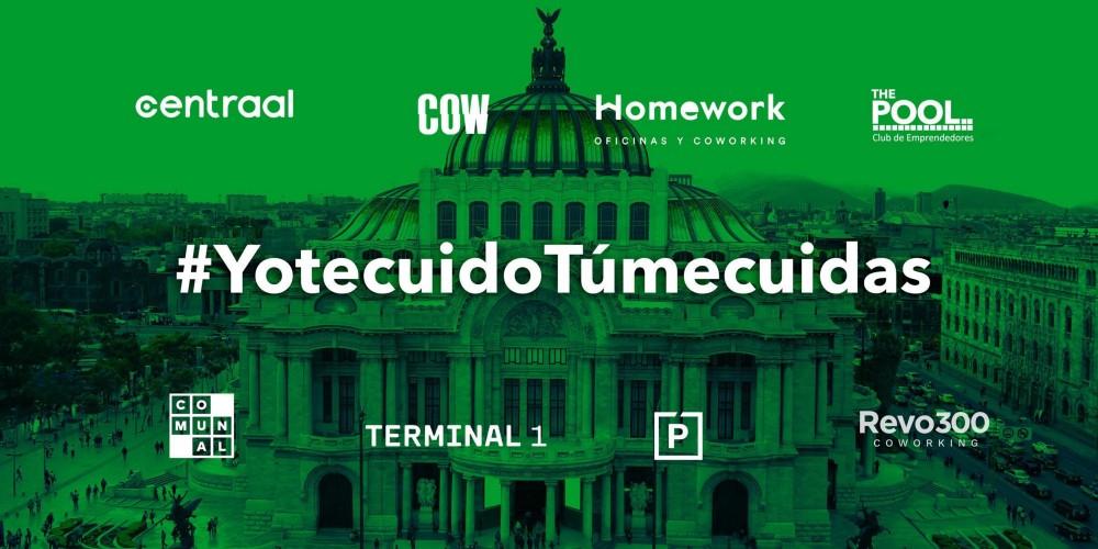 #YotecuidoTúmecuidas: unidos por la industria del coworking